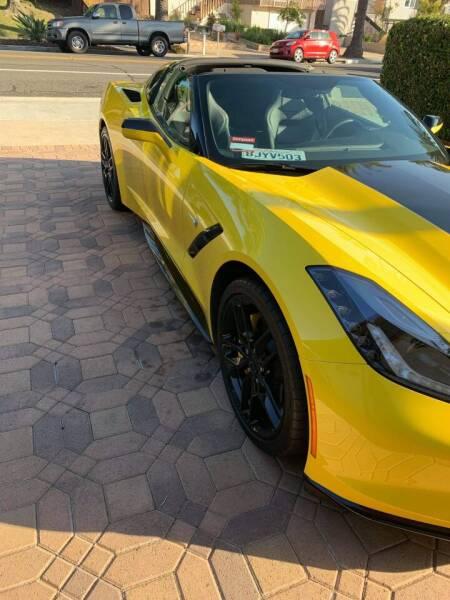 2019 Chevrolet Corvette for sale at L.A. Vice Motors in San Pedro CA