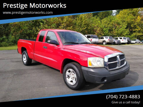 2005 Dodge Dakota for sale at Prestige Motorworks in Concord NC