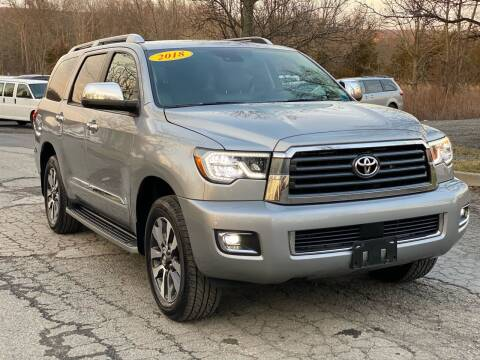 2018 Toyota Sequoia for sale at HERSHEY'S AUTO INC. in Monroe NY