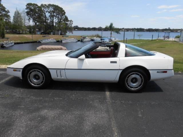 1984 Chevrolet Corvette for sale at Classic Car Deals in Cadillac MI