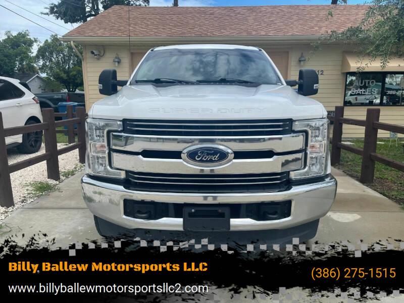 2018 Ford F-250 Super Duty for sale at Billy Ballew Motorsports LLC in Daytona Beach FL
