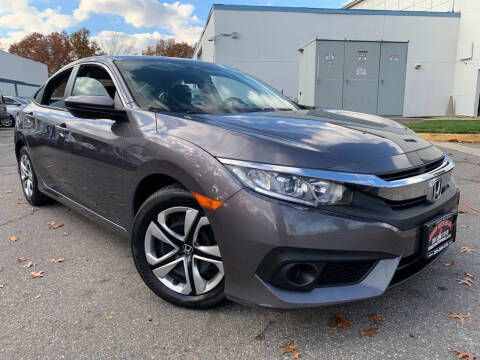 2017 Honda Civic for sale at JerseyMotorsInc.com in Teterboro NJ