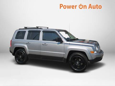 2014 Jeep Patriot for sale at Power On Auto LLC in Monroe NC