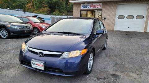 2007 Honda Civic for sale at Auto Match in Waterbury CT
