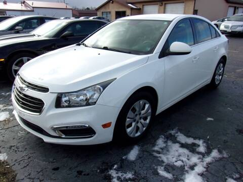 2015 Chevrolet Cruze for sale at DAVE KNAPP USED CARS in Lapeer MI
