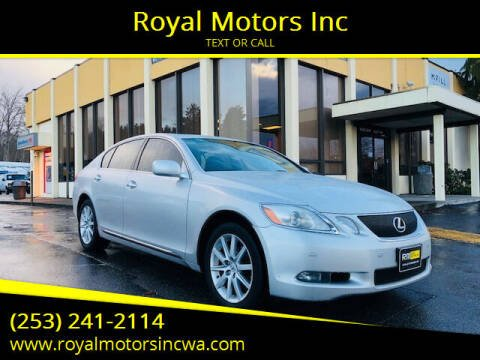 2006 Lexus GS 300 for sale at Royal Motors Inc in Kent WA