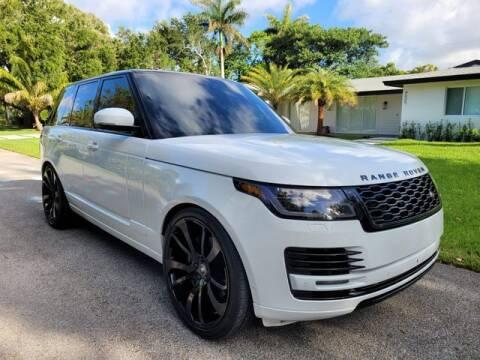 2018 Land Rover Range Rover for sale at Prado Auto Sales in Miami FL