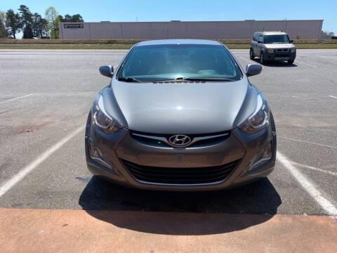 2014 Hyundai Elantra for sale at S & H AUTO LLC in Granite Falls NC