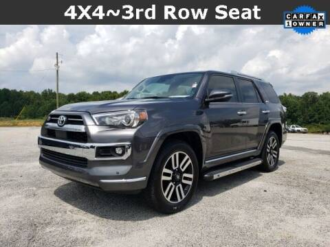 2021 Toyota 4Runner for sale at Hardy Auto Resales in Dallas GA
