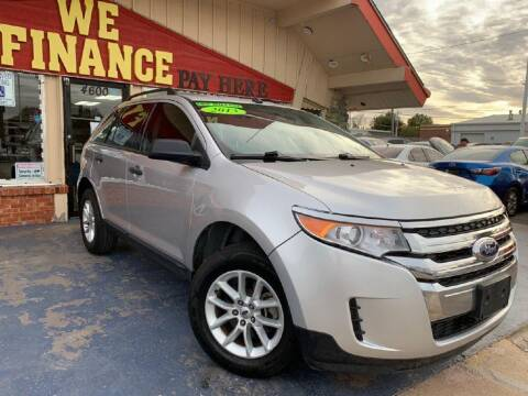 2013 Ford Edge for sale at Caspian Auto Sales in Oklahoma City OK