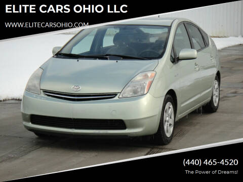 2009 Toyota Prius for sale at ELITE CARS OHIO LLC in Solon OH