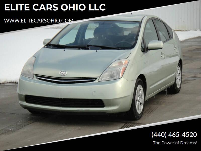 2009 Toyota Prius for sale at ELITE CARS OHIO LLC in Solon OH