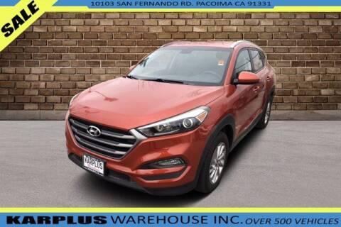 2016 Hyundai Tucson for sale at Karplus Warehouse in Pacoima CA