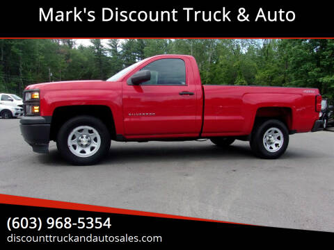 2014 Chevrolet Silverado 1500 for sale at Mark's Discount Truck & Auto in Londonderry NH