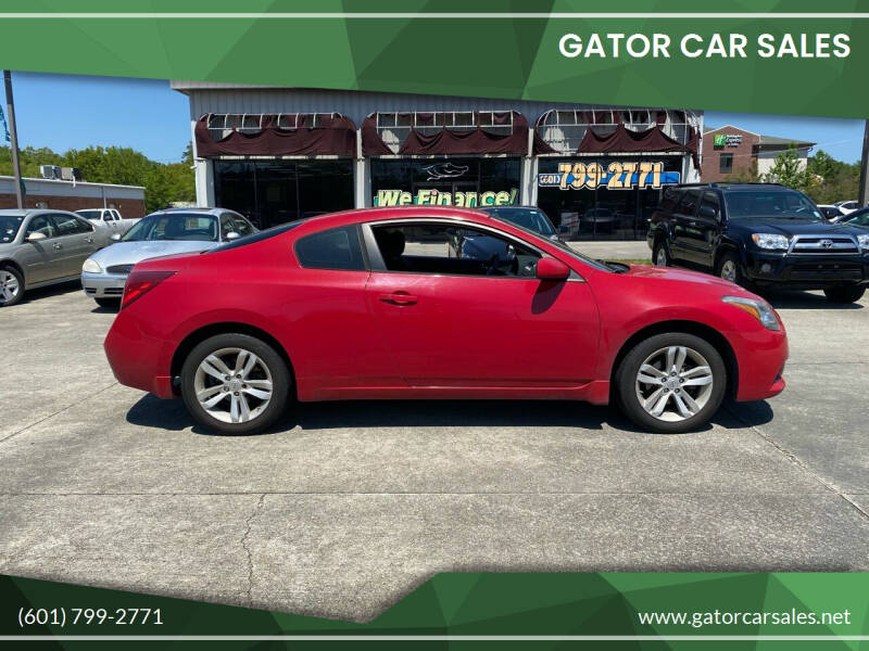 2012 Nissan Altima for sale at Gator Car Sales in Picayune MS