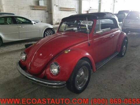 1968 Volkswagen Beetle for sale at East Coast Auto Source Inc. in Bedford VA