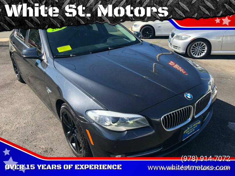 2012 BMW 5 Series AWD 528i xDrive 4dr Sedan - Haverhill MA
