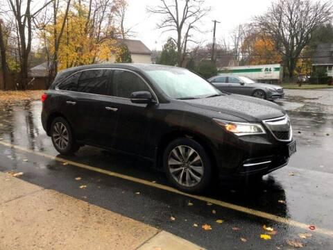 2014 Acura MDX for sale at MFG Prestige Auto Group in Paterson NJ