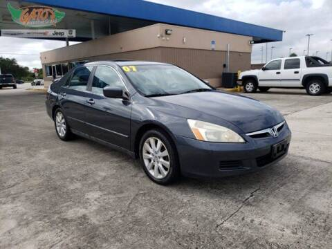 2007 Honda Accord for sale at GATOR'S IMPORT SUPERSTORE in Melbourne FL