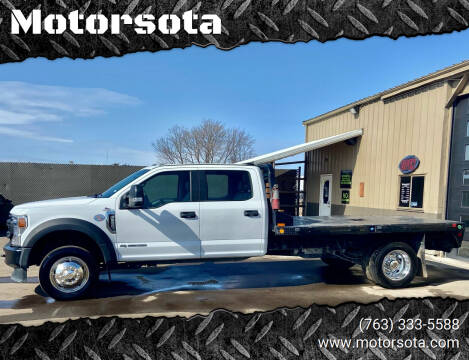 2020 Ford F-550 Super Duty for sale at Motorsota in Becker MN