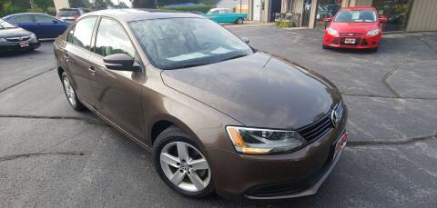 2012 Volkswagen Jetta for sale at PEKARSKE AUTOMOTIVE INC in Two Rivers WI