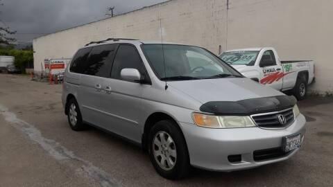 2002 Honda Odyssey for sale at Goleta Motors in Goleta CA