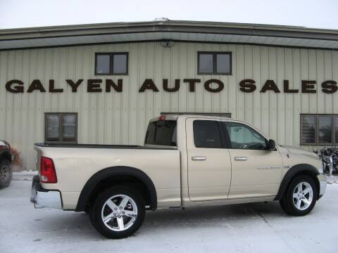 2011 RAM Ram Pickup 1500 for sale at Galyen Auto Sales Inc. in Atkinson NE