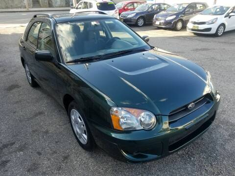 2004 Subaru Impreza for sale at Fortier's Auto Sales & Svc in Fall River MA