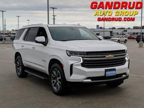 2021 Chevrolet Tahoe for sale at Gandrud Dodge in Green Bay WI
