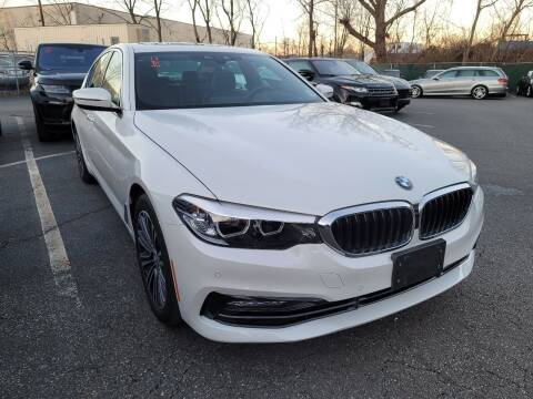 2018 BMW 5 Series for sale at AW Auto & Truck Wholesalers  Inc. in Hasbrouck Heights NJ