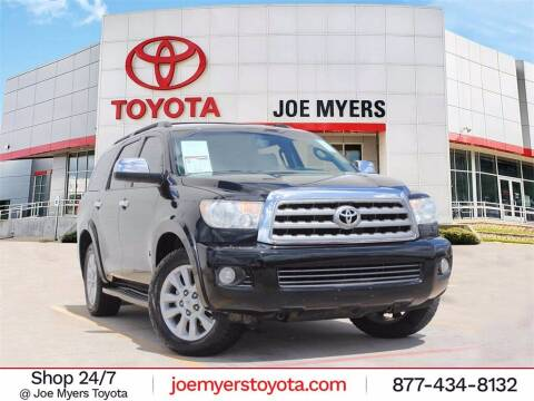 2016 Toyota Sequoia for sale at Joe Myers Toyota PreOwned in Houston TX