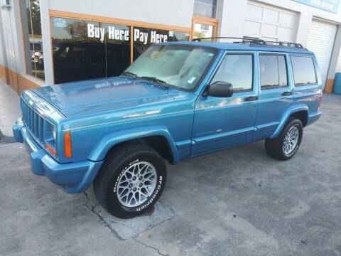 1999 Jeep Cherokee for sale at QUALITY AUTO SALES OF FLORIDA in New Port Richey FL