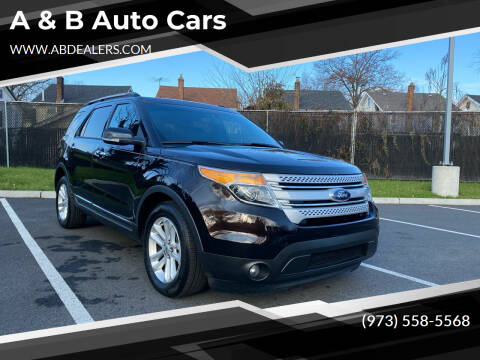 2013 Ford Explorer for sale at A & B Auto Cars in Newark NJ