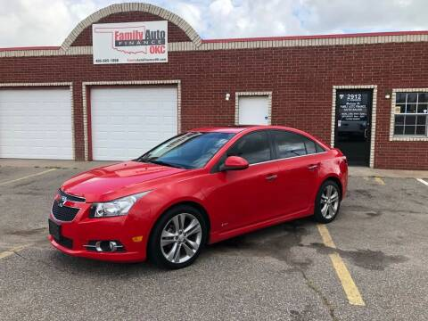 2014 Chevrolet Cruze for sale at Family Auto Finance OKC LLC in Oklahoma City OK