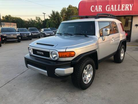 2007 Toyota FJ Cruiser for sale at Car Gallery in Oklahoma City OK