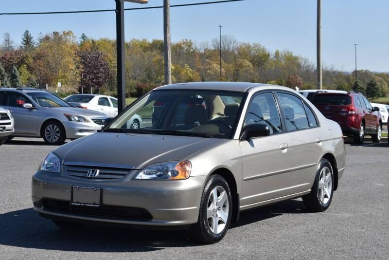2003 Honda Civic for sale at Broadway Motor Car Inc. in Rensselaer NY
