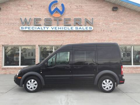 2010 Ford Transit for sale at Western Specialty Vehicle Sales in Braidwood IL