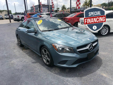 2014 Mercedes-Benz CLA for sale at MACHADO AUTO SALES in Miami FL