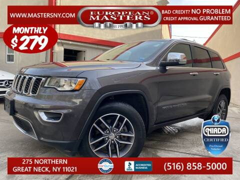 2018 Jeep Grand Cherokee for sale at European Masters in Great Neck NY
