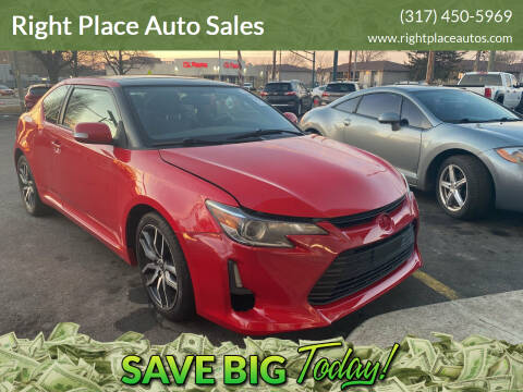 2014 Scion tC for sale at Right Place Auto Sales in Indianapolis IN