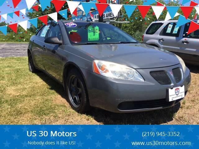 2008 Pontiac G6 for sale at US 30 Motors in Merrillville IN