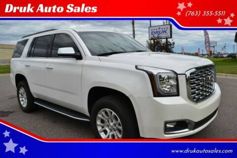 2018 GMC Yukon for sale at Druk Auto Sales in Ramsey MN