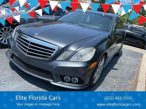 2010 Mercedes-Benz E-Class for sale at Elite Florida Cars in Tavares FL