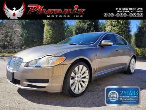 2009 Jaguar XF for sale at Phoenix Motors Inc in Raleigh NC
