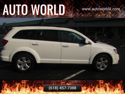 2012 Dodge Journey for sale at Auto World in Carbondale IL