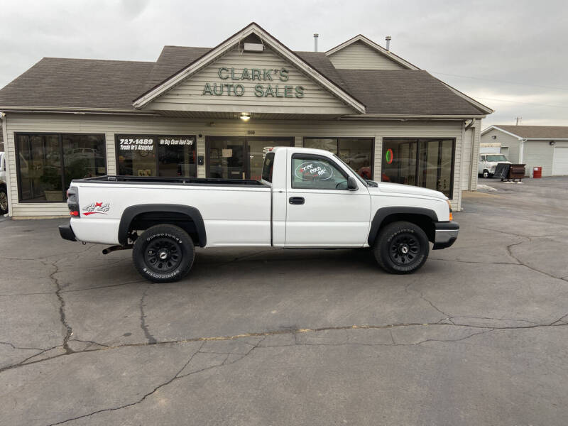 2006 Chevrolet Silverado 1500 for sale at Clarks Auto Sales in Middletown OH