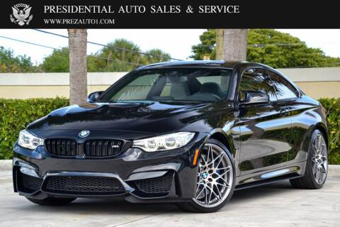 2017 BMW M4 for sale at Presidential Auto  Sales & Service in Delray Beach FL