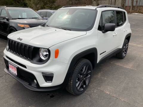2021 Jeep Renegade for sale at Louisburg Garage, Inc. in Cuba City WI