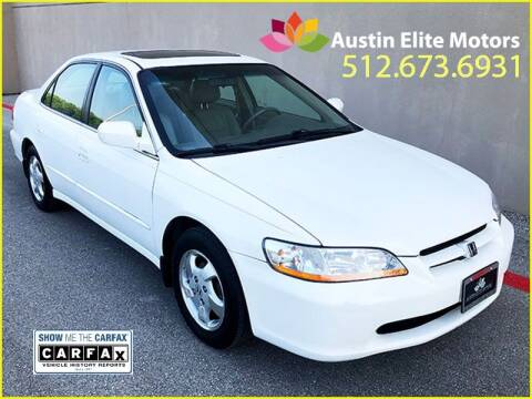 2000 Honda Accord for sale at Austin Elite Motors in Austin TX
