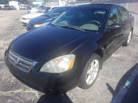 2003 Nissan Altima for sale at Castle Used Cars in Jacksonville FL
